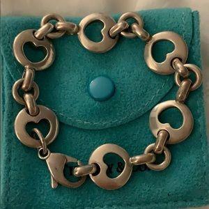 Tiffany and co open heart bracelet